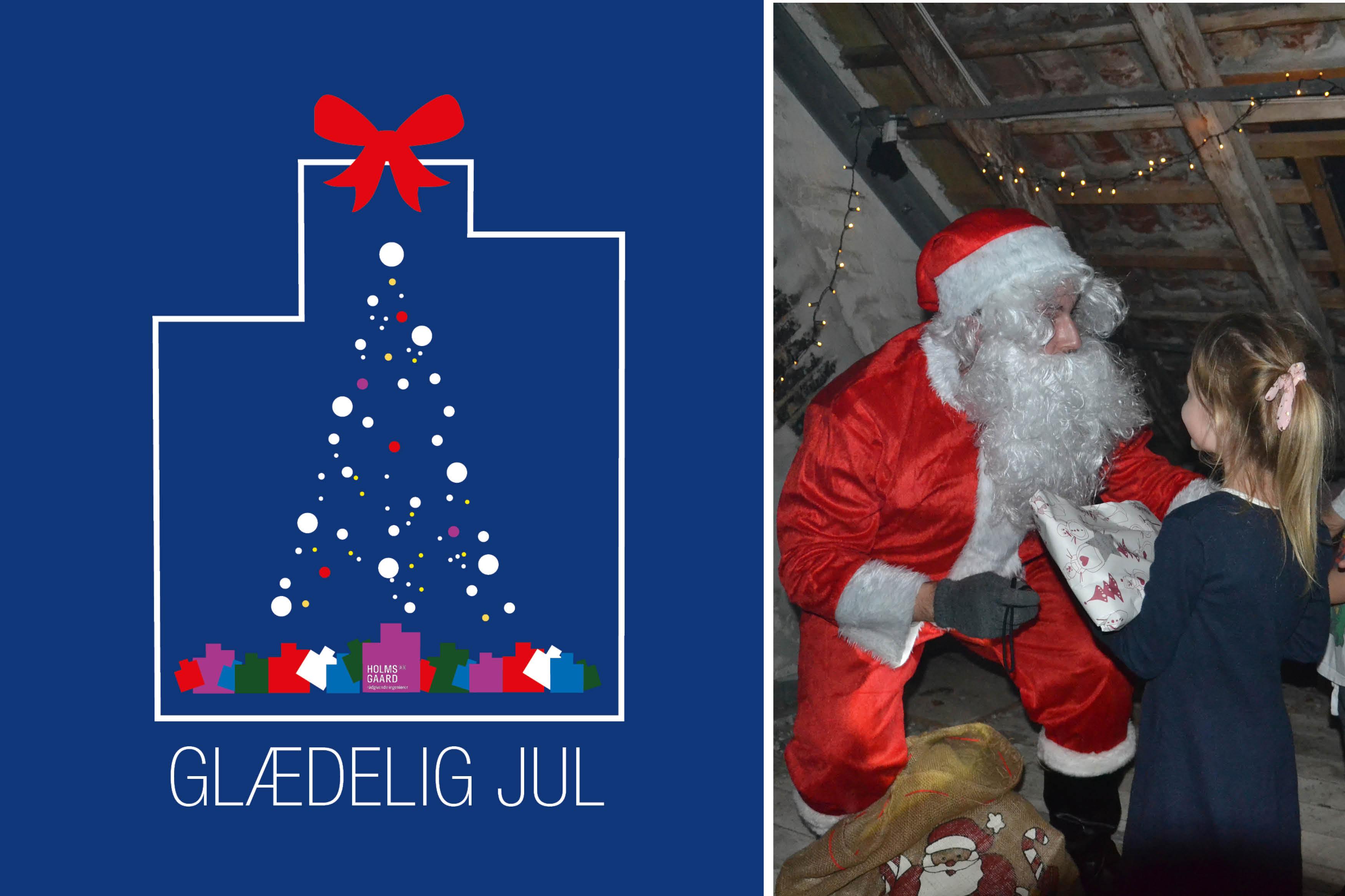 Holmsgaard Ønsker God Jul